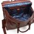 Ted Baker Men's Shalala Leather Holdall Bag - Tan: Image 5