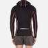 Superdry Men's Gym Sport Runner Panel Zip Hoody - Black: Image 3