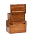 Luxury Leather Storage Trunks (Set of 2): Image 2