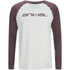 Animal Men's Action Raglan Long Sleeve Top - Light Grey Marl: Image 1