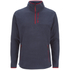 Animal Men's Prudhoes 1/2 Zip Fleece Jumper - Total Eclipse Navy: Image 1