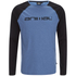 Animal Men's Action Raglan Long Sleeve Top - Royale Blue Marl: Image 1