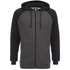 Animal Men's Jump Raglan Zip Through Hoody - Black: Image 1
