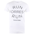 Forrest Gump Run Forrest Heren T-Shirt - Wit: Image 1