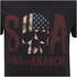 T-Shirt Homme Sons of Anarchy Drapeau Skull - Noir: Image 5