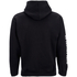 Rum Knuckles Mens Smokin Skull Zip Through Hoody - Zwart: Image 2