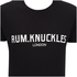 Rum Knuckles Men's London T-Shirt - Black: Image 3