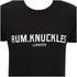 Rum Knuckles Mens London T-Shirt - Zwart: Image 3