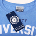 Varsity Team Players Men's University Athletic T-Shirt - Blue: Image 4