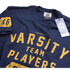 Varsity Team Players Men's Gym T-Shirt - Navy: Image 4