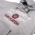 Varsity Team Players Men's University Athletic Hoody - Grey: Image 2