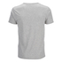 Threadbare Men's William Plain Crew Neck T-Shirt - Grey Marl: Image 2