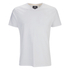 Threadbare Men's Charlie Plain V-Neck T-Shirt - White: Image 1