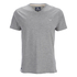Threadbare Men's Charlie Plain V-Neck T-Shirt - Grey Marl: Image 1