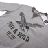 Cotton Soul Men's Free & Wild Sweatshirt - Grey Marl: Image 2