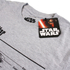 Star Wars Death Star Heren T-Shirt - Heather Grey: Image 3