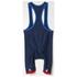 adidas Men's Team GB Replica Training Cycling Bib Shorts - Blue: Image 8