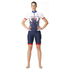 adidas Women's Team GB Replica Training Cycling Shorts - Blue: Image 1