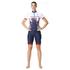 adidas Women's Team GB Replica Training Cycling Shorts - Blue: Image 1