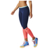 adidas Women's Stella Sport Long Mesh Training Tights - Blue/Pink: Image 2