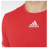 adidas Men's Sequencials Climalite Running T-Shirt - Red: Image 4
