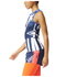 adidas Women's Stella Sport Star Training Tank Top - White/Blue: Image 2