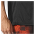 adidas Men's Performance Essentials Running T-Shirt - Black/Red: Image 6