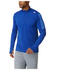 adidas Men's Response 1/4 Zip Long Sleeve Running T-Shirt - Blue: Image 7