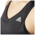 adidas Women's Sequencials Climalite Running Tank Top - Black: Image 4