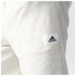 adidas Men's HVY Terry Training Shorts - White: Image 6