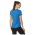 adidas Women's Sequencials Climalite Running T-Shirt - Blue: Image 3