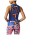 adidas Women's Stella Sport College Training Tank Top - Blue/Orange: Image 3