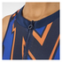 adidas Women's Stella Sport College Training Tank Top - Blue/Orange: Image 5
