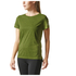 adidas Women's Climachill Training T-Shirt - Yellow: Image 7