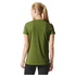 adidas Women's Climachill Training T-Shirt - Yellow: Image 3