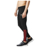 adidas Men's Response Long Running Tights - Black/Red: Image 2