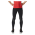 adidas Men's Adizero Sprintweb Running Long Tights - Black: Image 3