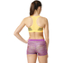 adidas Women's 3-Stripes Training Racer Back Bra - Gold: Image 3