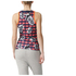 adidas Women's Stella Sport Check Training Tank Top - Red/Blue: Image 3