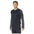 adidas Men's Response Long Sleeve Running T-Shirt - Black: Image 1