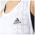 adidas Women's Lightweight Training Tank Top - White: Image 4