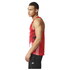 adidas Men's Adizero Running Singlet - Red: Image 2