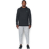 Under Armour Men's Triblend Pullover Hoody - Asphalt Heather: Image 3