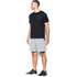 Under Armour Men's Jacquard Tech Short Sleeve T-Shirt - Black/Stealth Grey: Image 4