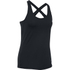 Under Armour Women's HeatGear CoolSwitch Short Sleeve Tank - Black: Image 1