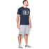 Under Armour Men's Stack Attack Short Sleeve T-Shirt - Midnight Navy: Image 4
