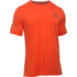 Under Armour Men's Sportstyle Left Chest Logo T-Shirt - Dark Orange/Nova Teal: Image 1