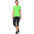 Under Armour Women's HeatGear Armour Short Sleeve T-Shirt - Lime Light: Image 3