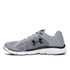 Under Armour Men's Micro G Assert 6 Running Shoes - Steel/White/Black: Image 3