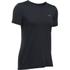 Under Armour Women's HeatGear Armour Short Sleeve T-Shirt - Black: Image 1